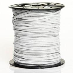 Lanière daim artificielle gris clair / 1m