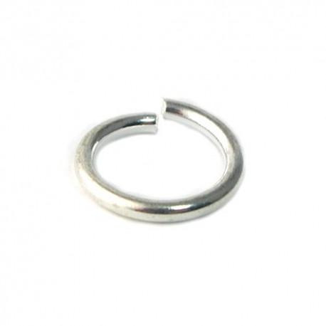 Anneau métal rond 14x2mm