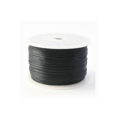 Satin noir 1mm / 1M