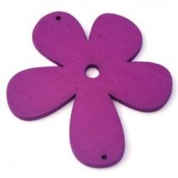 Orchidée bois Mauve 56mm