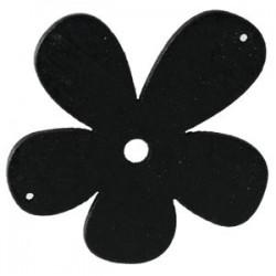 Orchidée bois Noir 56mm