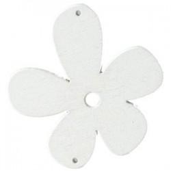Orchidée bois Blanc 56mm