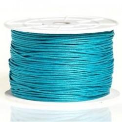 Coton ciré turquoise 3mm / 1M