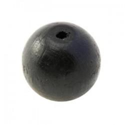 Perle en bois noir 20MM
