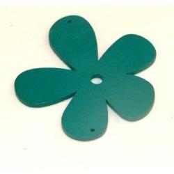 Orchidée bois turquoise 56mm