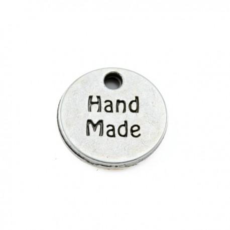 """Breloque """"hand made""""13mm"""