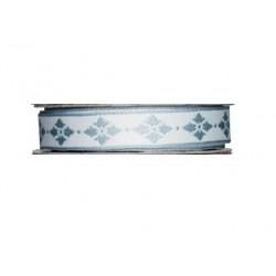 ruban Tilda bleu avec étoile,bobine de 2m