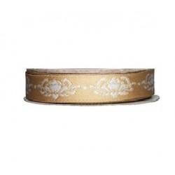 ruban Tilda or, bobine de 2m