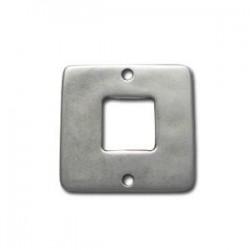 Anneau carré métal 30mm