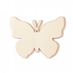 Papillon en bois +-60mm