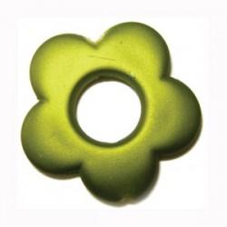 Fleur Olivine satin 34 mm