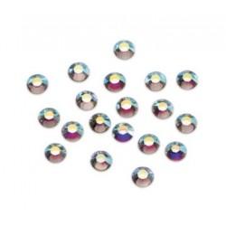 Strass Swarovski hotfix Crystal AB SS8(2.5mm )/35pces