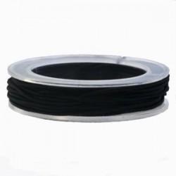 Corde élastique Noir +-1MM / 5 M