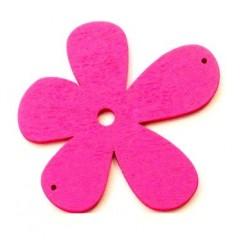 Orchidée bois rose 56mm
