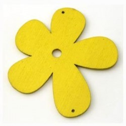 Orchidée bois jaune 56mm