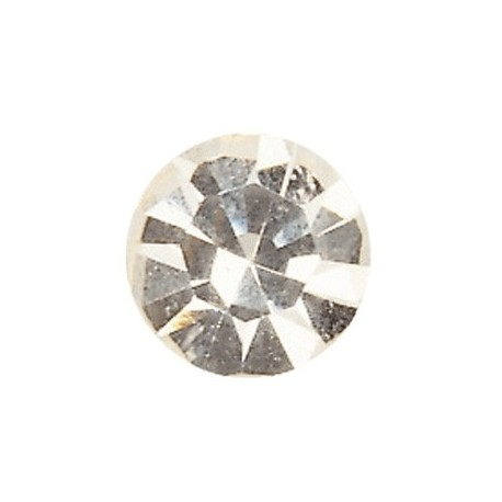 Strass plat cristal de 3.5mm vendu par 21pcs