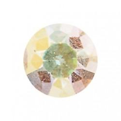Strass plat cristal de 2mm vendu par 25pcs