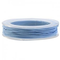 Corde élastique bleu 0,5MM / 5 M