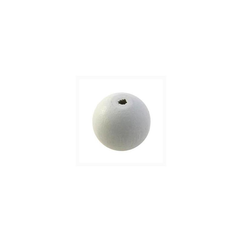 12 mm-Bois-Blanc Yeux Cube