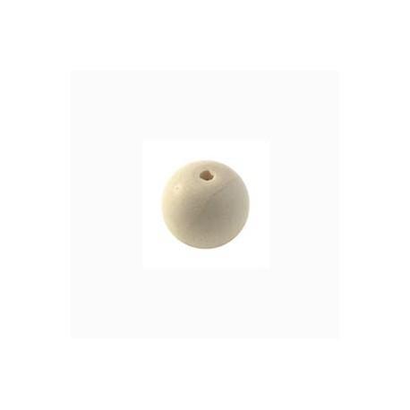 Perle en bois 10mm naturel