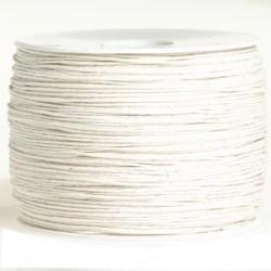 Coton blanc crême 0.8 mm / 1M