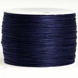 Coton bleu marine 0.8 mm / 1M