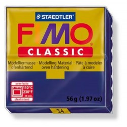 Pâte fimo classic 56gr bleu marine 34