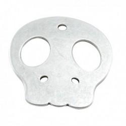 Pendentif métal Tête de Mort 58 mm