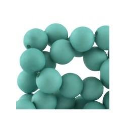 Perle en résine 12mm Vert Turquoise