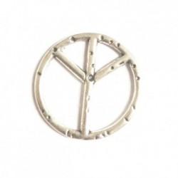 Peace and love sans anneau 22mm