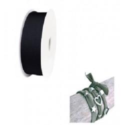 Ruban élastique Noir/10cm