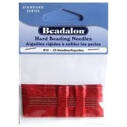 25 Aiguilles à Perler Beadalon 55mm