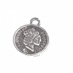 Pendentif pièce de monnaie 15mm