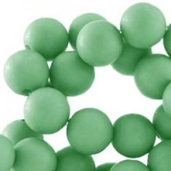 Perle en résine 10mm Vert Erinite
