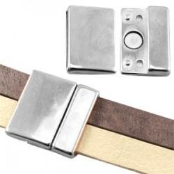 Fermoir Magnétique 25 x 25 mm (Ø 21x2.5mm)