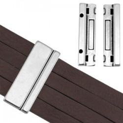Fermoir Manchette Magnétique 43 x 17 mm (Ø 40x2.5mm)