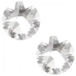Strass Swarovski Plat Crystal de 7mm SS34