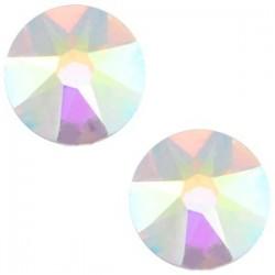 Strass Swarovski Plat Crystal AB de 7mm SS34
