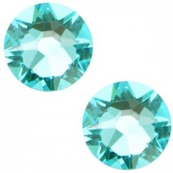 Strass Swarovski Plat Light Turquoise de 7mm SS34