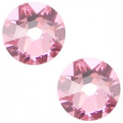 Strass Swarovski Plat Light Rose de 7mm SS34
