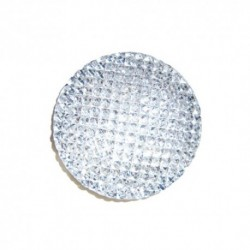 Cabochon Rond 16mm strass cristal