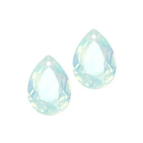 pendentif Goutte Résine 10*14mm Turquoise