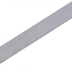 Cuir Plat Gris 10mm/20cm