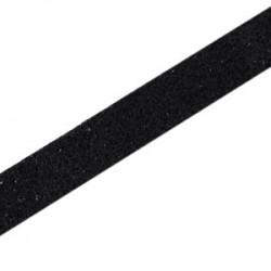 Cuir Plat Noir Imit. 10mm/20cm