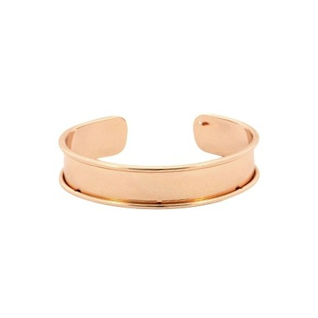 Bracelet Esclave RoseGold Pour Lanière Plate 10mm