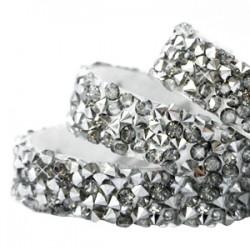 Lanière Crystal Rock Adhésive Argnté/20cm
