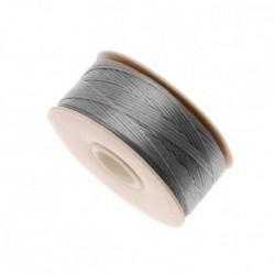 Bobine fil Nymo Gris 0.3mm (D)