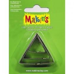 Emporte-pièce triangle 4 cm