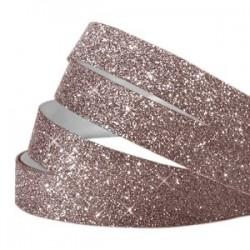 Bande Adhésive Crystal Glitter Aubergine 5MM / 10CM