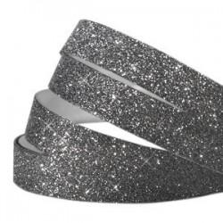 Bande Adhésive Crystal Glitter Noir 5MM / 10CM